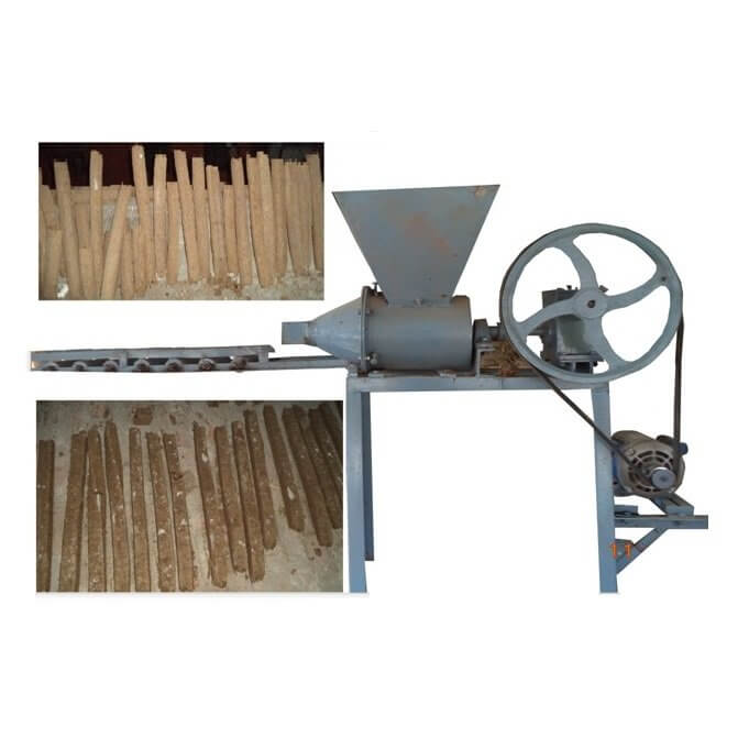 Cow dung log Machine for Eco friendly cremation | Mitticool