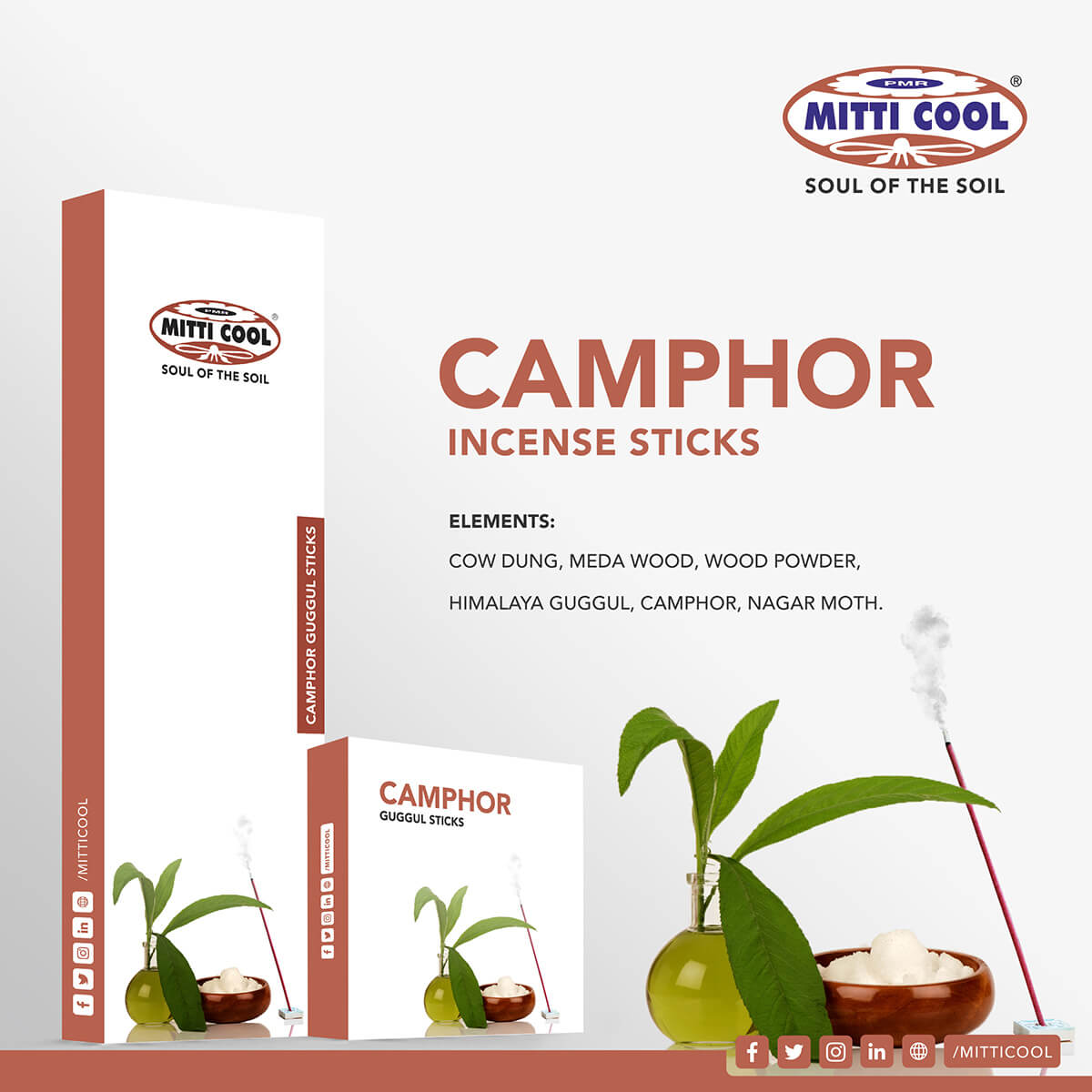 Incense Sticks Camphor Mitticool