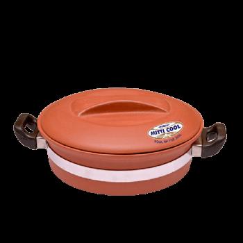 Buy Online Clay Handi With Handle 2 Liter Cook 100 Healthy