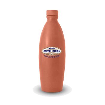 Mitticool Earthen Clay Water Bottle 1 Litre Buy Clay Water